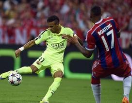 Neymar chen chân vào cuộc đua săn bàn giữa Messi và C.Ronaldo