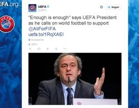 Michel Platini và UEFA mở chiến dịch lật đổ Sepp Blatter