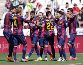 Messi-Suarez-Neymar và bữa tiệc bàn thắng tưng bừng trước Cordoba