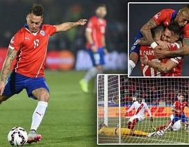 Đánh bại Peru, Chile tiến vào chung kết Copa America 2015