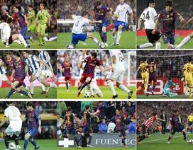 Chiêm ngưỡng những tuyệt phẩm từ đôi chân ma thuật của Messi