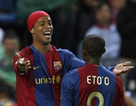 Ronaldinho tái ngộ Eto'o tại Thổ Nhĩ Kỳ