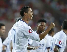C.Ronaldo lập hattrick, Bồ Đào Nha thắng nghẹt thở Armenia