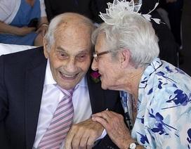 Cụ ông 103 cưới cụ bà 91