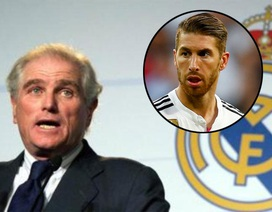 Cựu chủ tịch Real Madrid khẳng định Ramos chỉ muốn đến MU