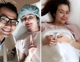Vợ diễn viên Huỳnh Đông sinh con trai