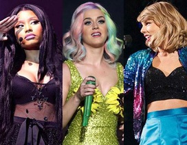 "Katy Perry về ""phe"" Nicki Minaj xỉa xói Taylor Swift"