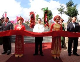 Khánh thành khu tưởng niệm cố Thủ tướng Võ Văn Kiệt tại quê nhà
