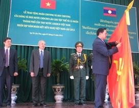 Nhiều tập thể, cá nhân nhận Huân - Huy chương do Lào trao tặng