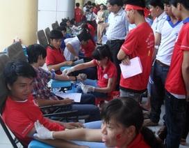 """Hơn 720 đơn vị máu từ chương trình """"Giọt hồng Tây Đô"""""""