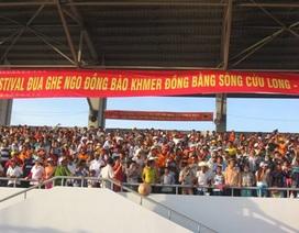 Bế mạc Festival Đua ghe ngo đồng bào Khmer ĐBSCL lần I