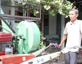 Lão nông học hết lớp 5 sáng chế thành công máy sạ lúa