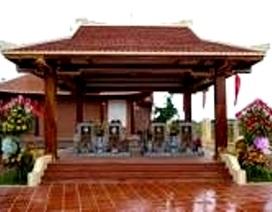 Khu lưu niệm nhạc sĩ Cao Văn Lầu trở thành di tích quốc gia