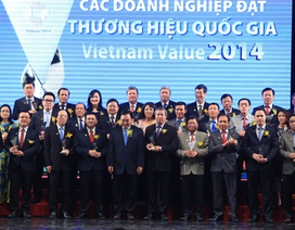 63 doanh nghiệp được công nhận Thương hiệu Quốc gia