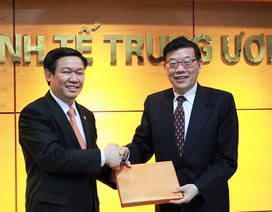 Ban Kinh tế Trung ương làm việc với Đoàn Nghiên cứu Phát triển Quốc Vụ viện Trung Quốc