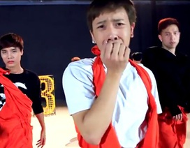 Xem vũ đạo đầy hài hước của các chàng vũ công St.319