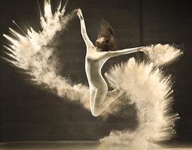 """Độc đáo bộ ảnh """"Đôi cánh trắng"""" của nhiếp ảnh gia người Bỉ"""
