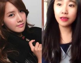 Cô gái Việt giống mỹ nhân Yoona khoe giọng hát ấn tượng
