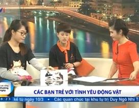 Trạm cứu hộ chó mèo bị ngược đãi của bạn trẻ Hà thành