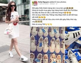 """Bị tố bán giày nhái, hot girl Kelly Nguyễn đổ lỗi do """"tin tưởng"""""""