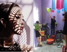 Bức ảnh hậu trường chụp thời trang gây sốt trên mạng