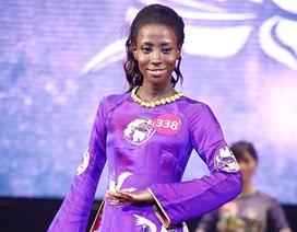 Ngắm nữ sinh Ghana tỏa sáng trong đêm chung kết Hoa khôi SV Việt