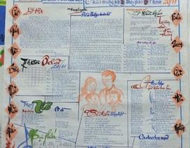 Những số báo tường đặc biệt chào mừng ngày Nhà giáo Việt Nam