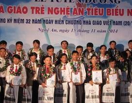 Nghệ An tuyên dương nhà giáo trẻ năm 2014