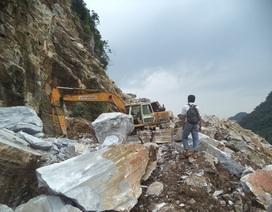 """Khai thác đá, quặng tại Nghệ An: Nhiều doanh nghiệp """"hết phép"""" vẫn ngang nhiên hoạt động"""