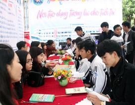 Hơn 5.000 học sinh THPT được tư vấn tuyển sinh - hướng nghiệp