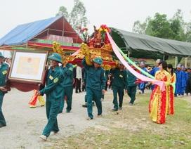 Long trọng lễ đón nhận bằng di tích lịch sử văn hóa Đền Thánh Mẫu