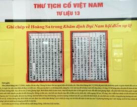 Tư liệu Thư tịch cổ Việt Nam khẳng định Hoàng Sa, Trường Sa của Việt Nam