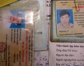 """Trang bị kính """"soi"""" giấy phép lái xe giả cho CSGT"""