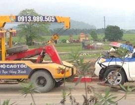 Hà Nội: Xe Cảnh sát dẫn đoàn gặp tai nạn, 3 CSGT tử vong
