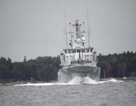"""Thụy Điển tiêu tốn gần 3 triệu USD săn đuổi """"tàu ma"""""""
