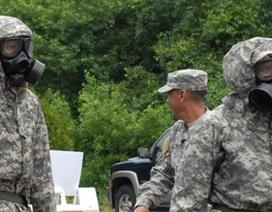 Mỹ cách ly binh sỹ trở về từ vùng dịch Ebola
