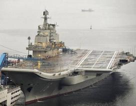 Trung Quốc bác tin xảy ra nổ trên tàu sân bay Liêu Ninh