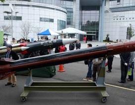 Đài Loan phát triển tên lửa mới ứng phó Trung Quốc