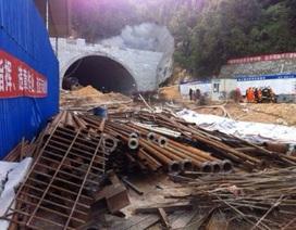 Trung Quốc: Sập công trình hầm cao tốc, 21 người mắc kẹt