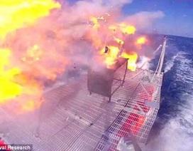 Vũ khí laser Mỹ công phá máy bay không người lái