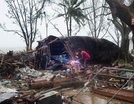 Siêu bão mạnh hơn 300km/h san phẳng quốc đảo Vanuatu
