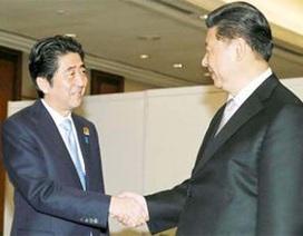 Lãnh đạo Nhật - Trung lần thứ hai gặp mặt