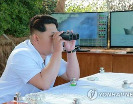 """Lãnh đạo Triều Tiên thị sát thử tên lửa chống hạm """"siêu hiện đại"""""""