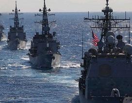 """Lực lượng Mỹ """"ken đặc"""" quanh Trung Quốc"""