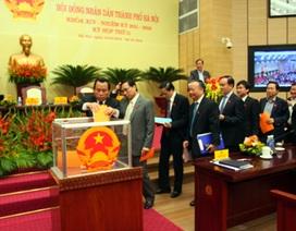 Hà Nội: Giám đốc Sở Kế hoạch - Đầu tư có nhiều phiếu tín nhiệm thấp nhất