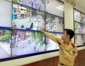 """Hà Nội sắp công bố kết quả phạt """"nguội"""" người vi phạm giao thông"""