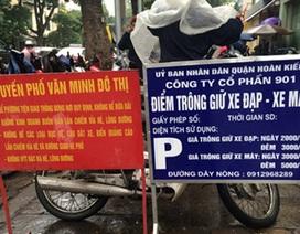 """Hà Nội sẽ dẹp bãi xe """"xẻ thịt"""" lòng đường, vỉa hè"""