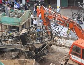 Vụ sập cần cẩu ở Hà Nội: Xử lý nghiêm những người có liên quan