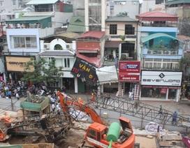 Hà Nội cho thi công trở lại công trình đường sắt liên tục gây tai nạn
