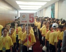 Gần 300 học sinh vào hội trường nghe đại biểu Quốc hội thảo luận